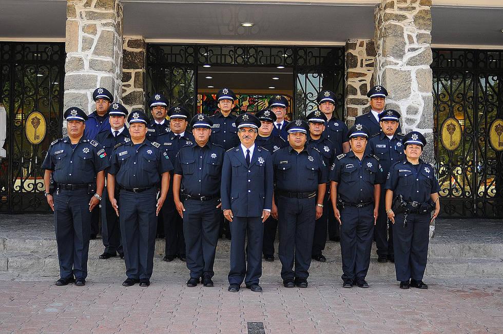 Foto de grupo policia tecamac