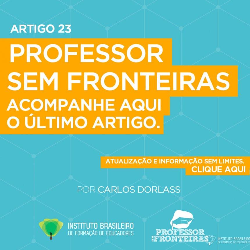 ARTIGO 23 - Aula Sem Fronteiras | Professor Sem Fronteiras