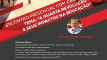 """Palestra com Prof. Carlos Dorlass - """"A quarta Revolução e seus impactos na Educação"""""""