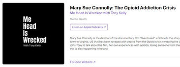 Podcast, Mary Sue Connolly's story