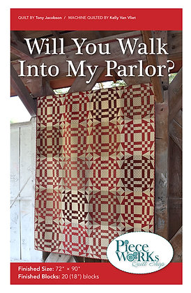 """""""Will You Walk Into My Parlor"""" Pattern pdf"""