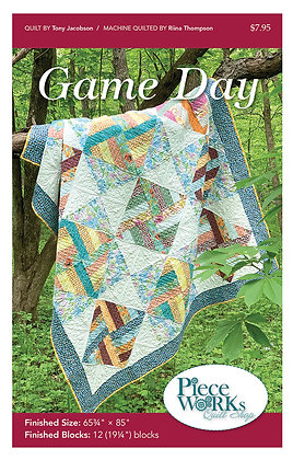 """Game Day"" Quilt Pattern pdf"