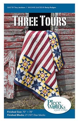 """Three Tours"" Quilt Pattern pdf"
