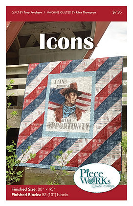 """Icons"" Quilt Pattern pdf"