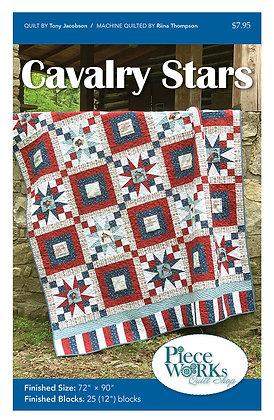 """Cavalry Stars"" Quilt Pattern pdf"