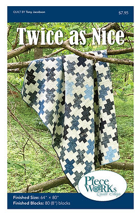 """Twice as Nice"" Quilt Pattern pdf"