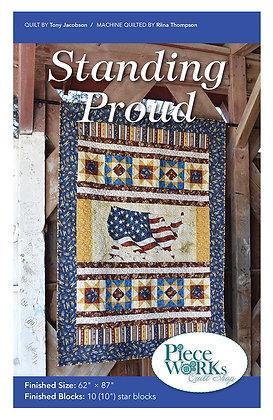 """Standing Proud"" Quilt Pattern pdf"