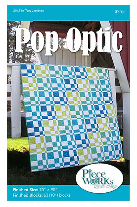 """Pop Optic"" Quilt Pattern pdf"