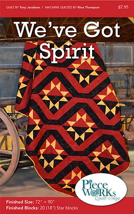 """We've Got Spirit"" Quilt Pattern pdf"