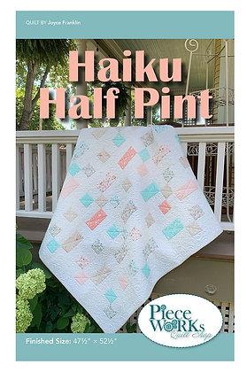 """Haiku Half Pint"" Pattern pdf"