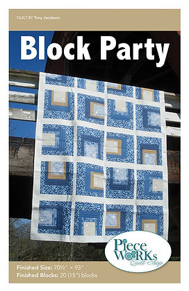 Block Party Quilt Pattern pdf