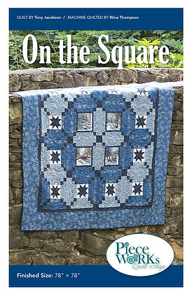 """On the Square"" Pattern pdf"