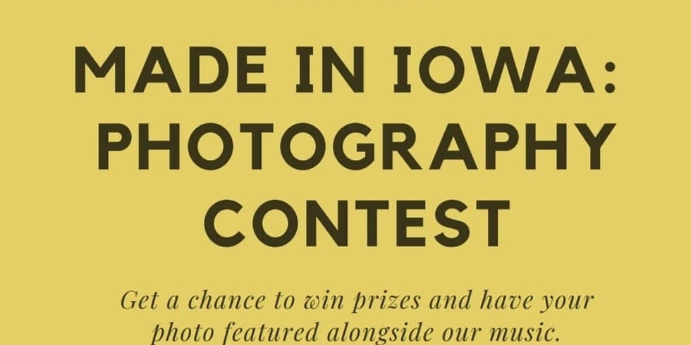 Made in Iowa: Photography Contest