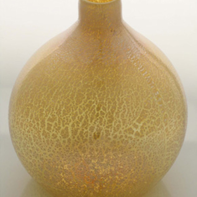 Gold Saki Vase