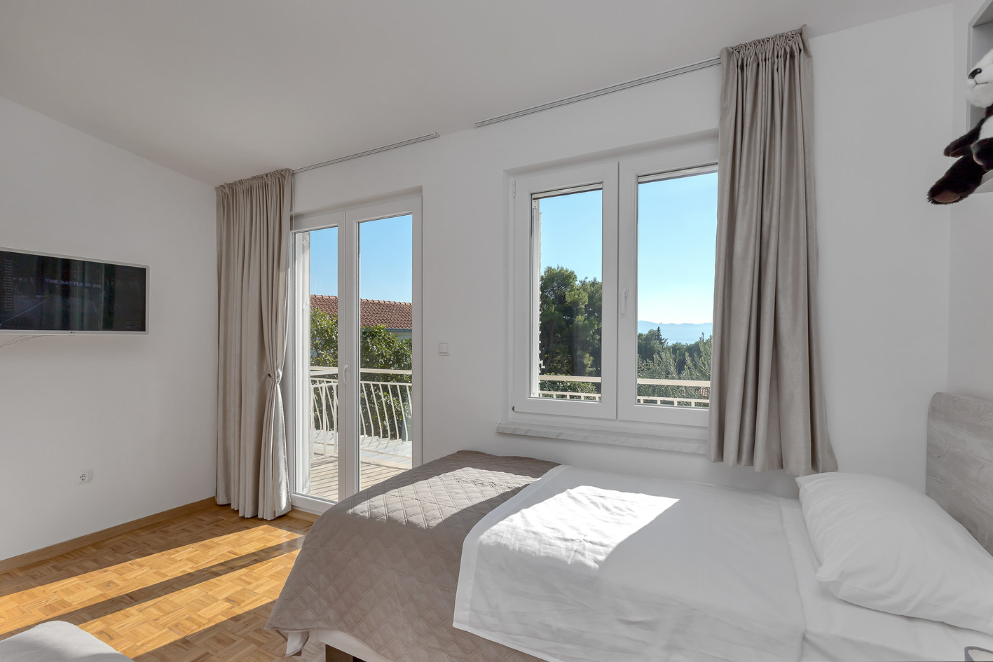 Einzelbettzimmer oben
