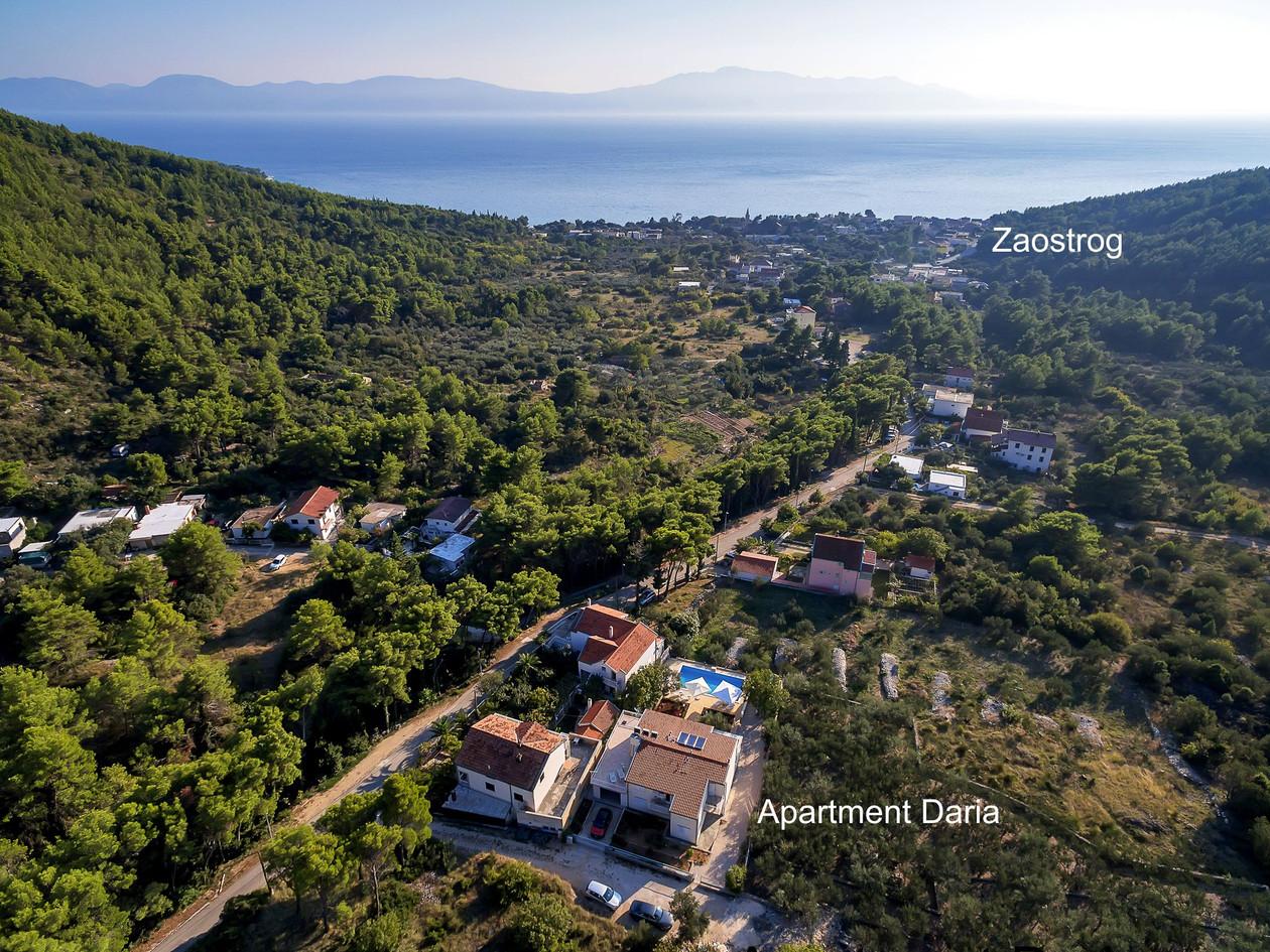 Luftaufnahme Apartment Daria