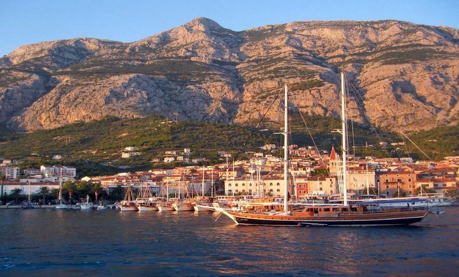 Makarska Hafen