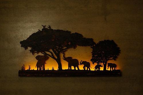 Luminária África