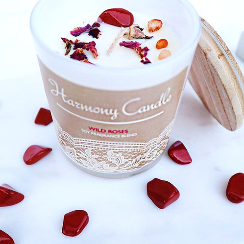 Harmony Crystal Candle