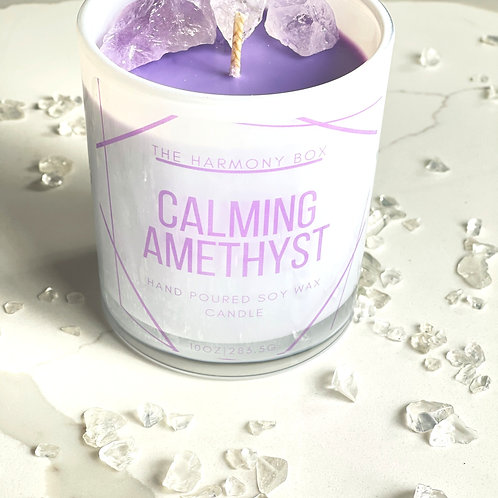 Calming Amethyst Candle