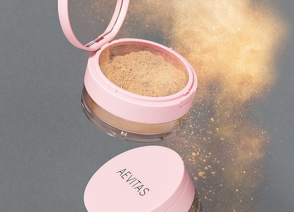ALL LIT UP Gold Highlighting Treatment powder