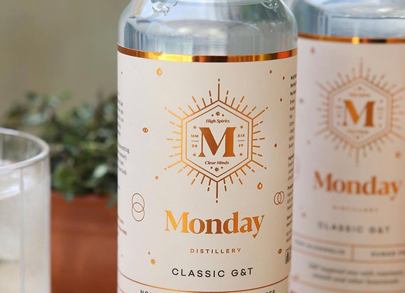 Monday Distillery Classic G & T