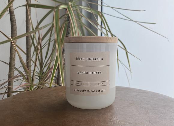 Ruah Organic Mango Papaya Candle