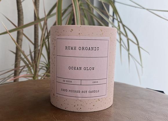 Ruah Organic  Ocean Glow Candle
