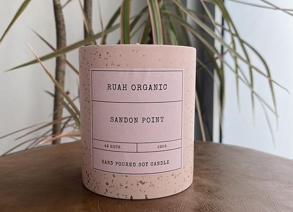 Ruah Organic  Sandon Point Candle
