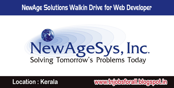 NewAge Solutions Walkin Drive for Web De