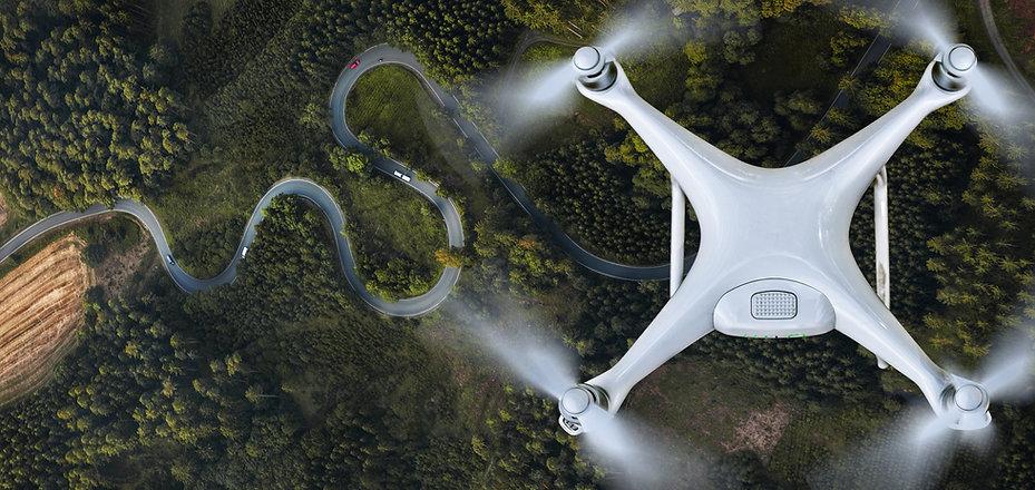 Luftaufnahme einer Drone