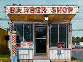 Barber Shop, Oklahoma City (after John Margolies)
