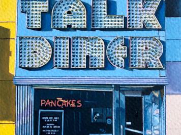 Town Talk Diner (after John Margolies)