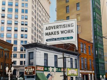 Downtown Atlanta(after John Vachon)