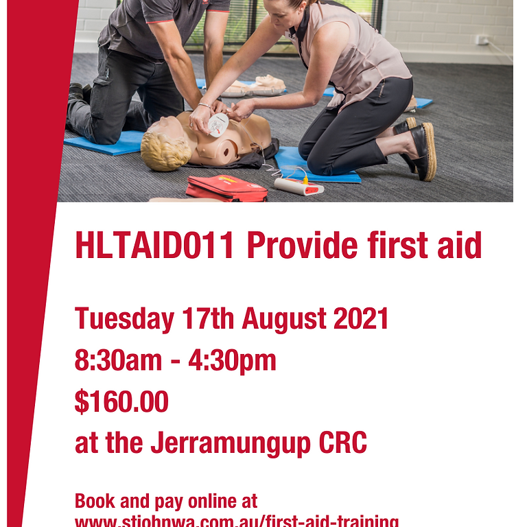 Provide First Aid HLTAID011