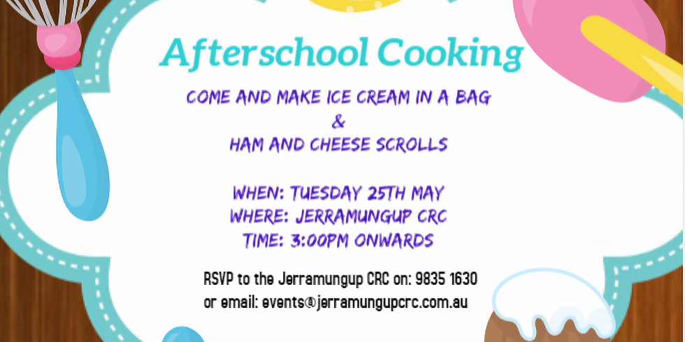 After School Activity - Cooking