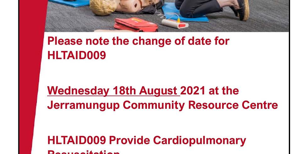 HLTAID009 Provide Cardiopulmonary Resuscitation