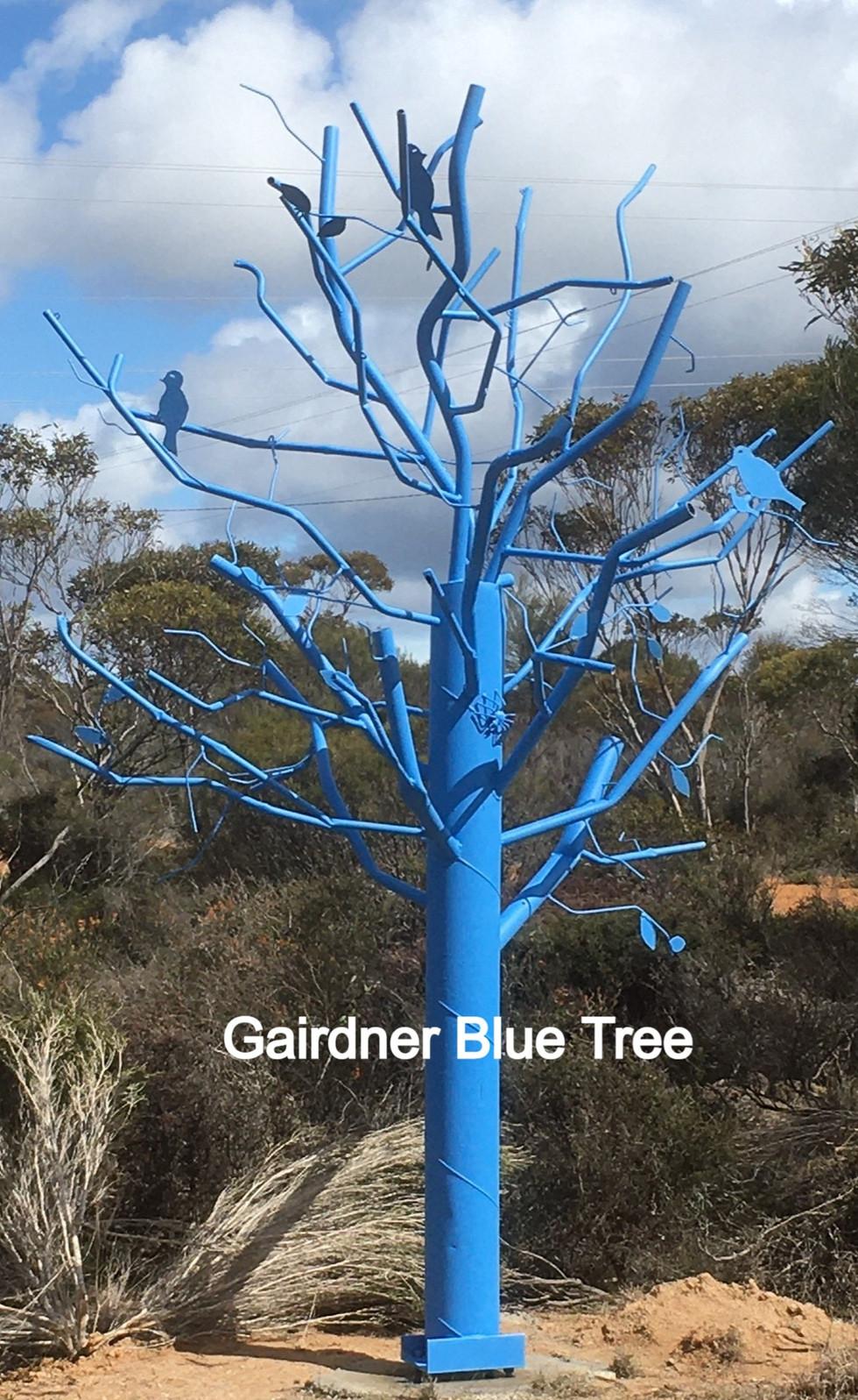 Gairdner Blue Tree