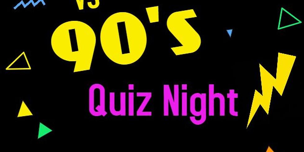 80's VS 90's Quiz Night