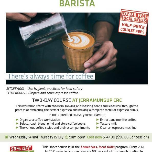 Barista Course