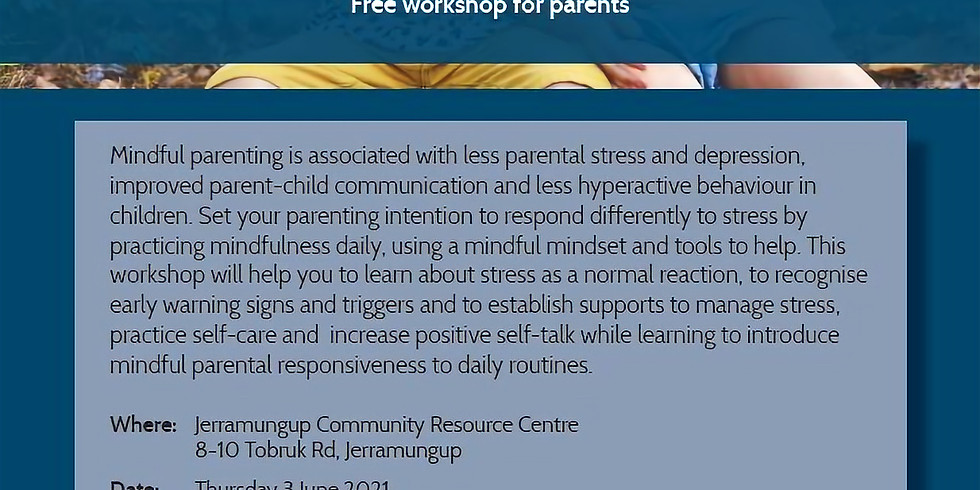Stress Management and Mindful Parenting