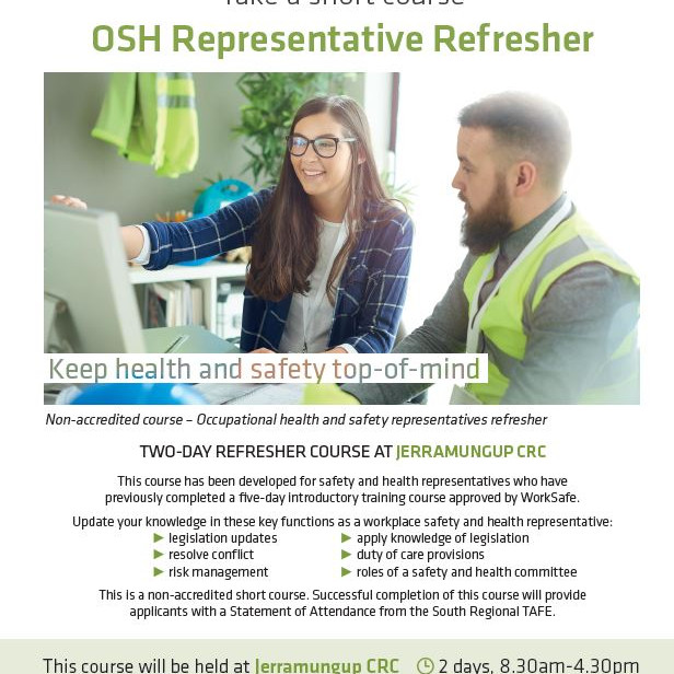 OSH Representative Refresher