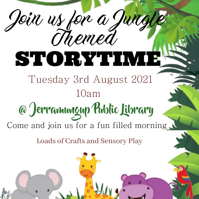 Jungle Themed Story Time