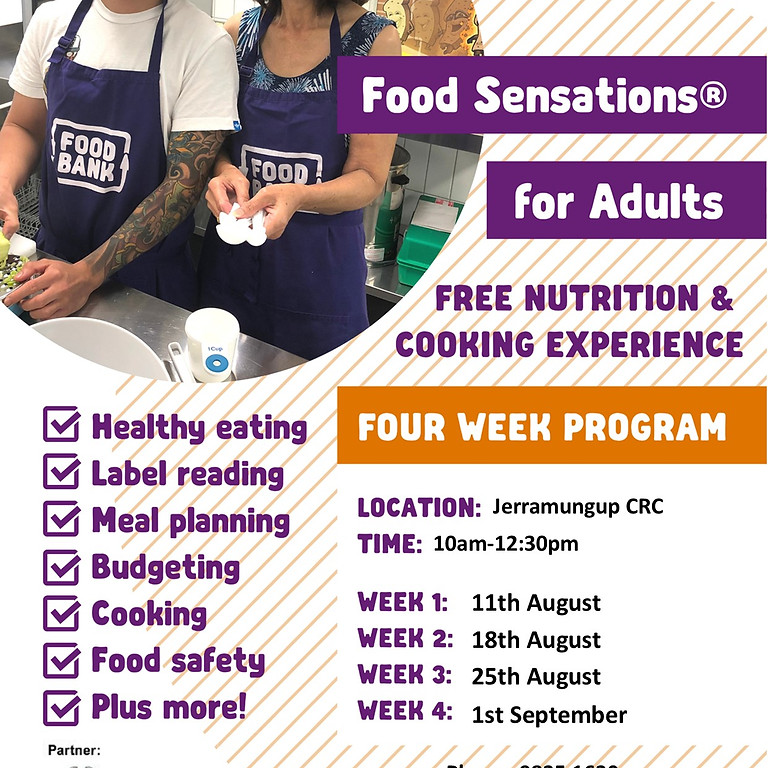 Food Sensations for Adults