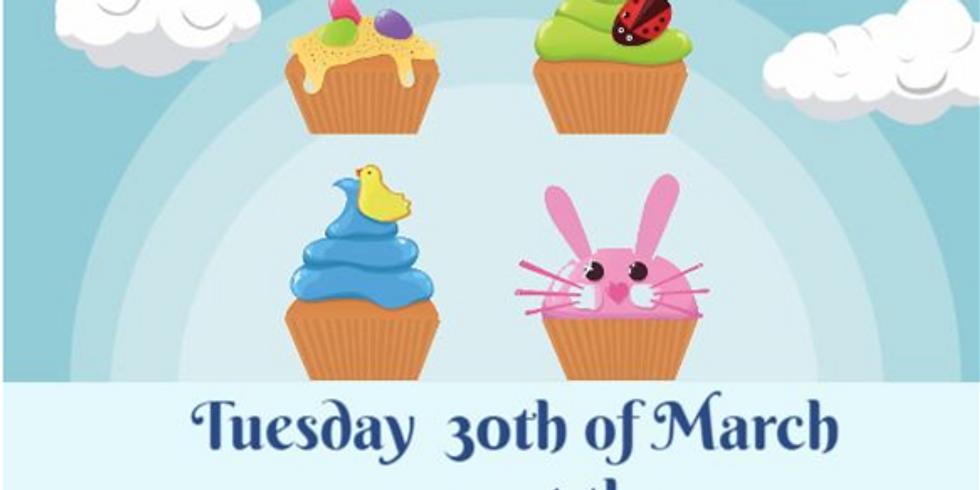 Easter Cupcake Decorating