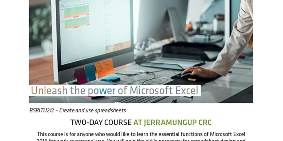 Spreadsheet - The Next Level Cert II
