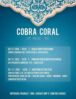 encontro Cobra Coral