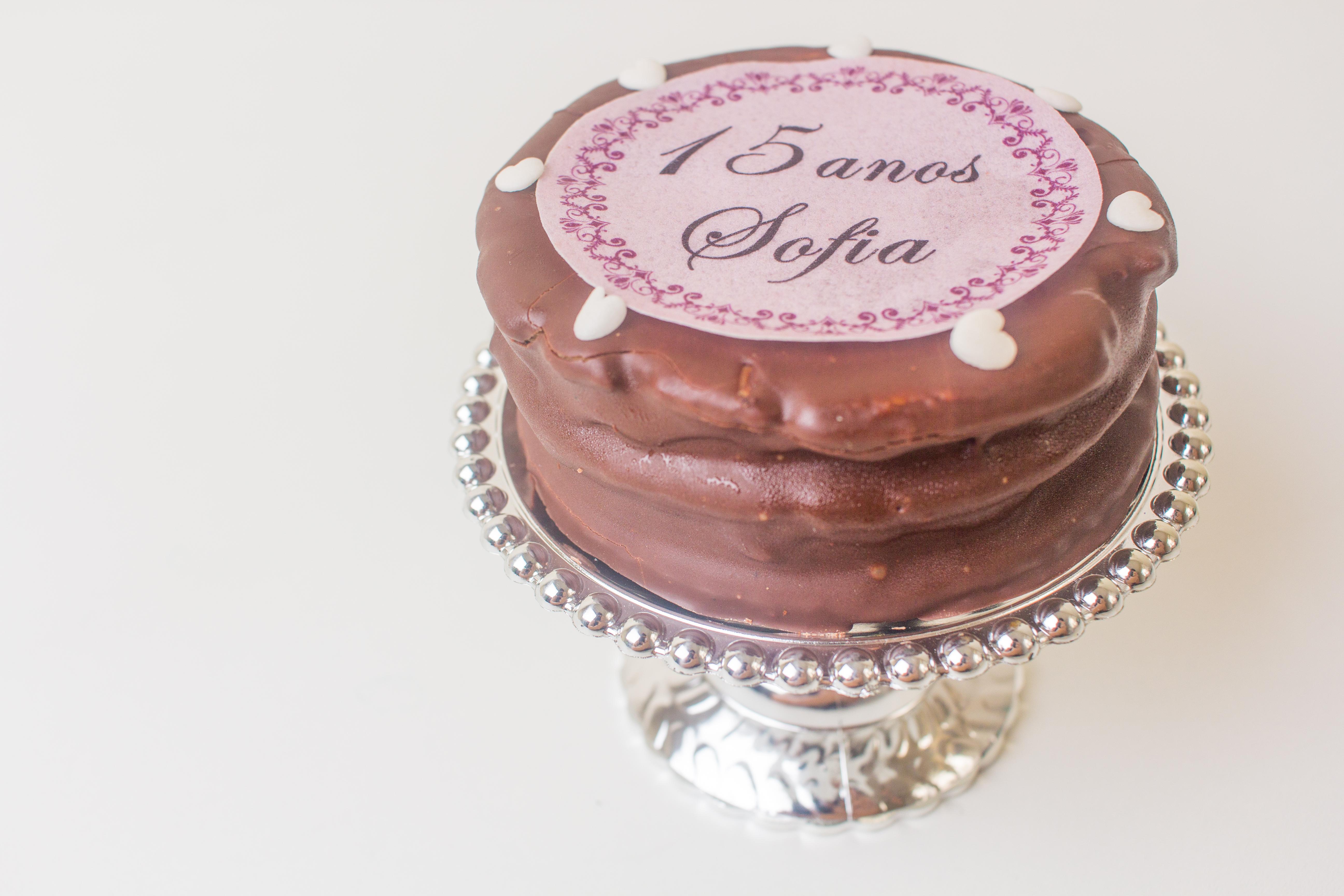 Mini Torta de Alfajor Personalizada