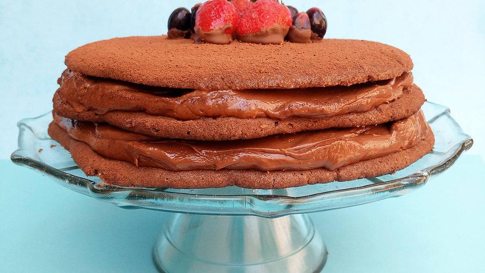 Torta de Cucatella - 2 Super Camadas