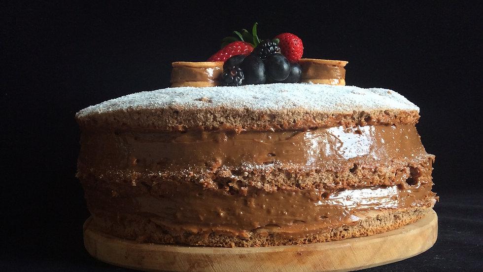 Torta Naked de Alfajor
